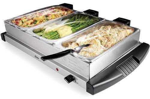 OsterStainless SteelBuffet Server Warmer - Triple Tray