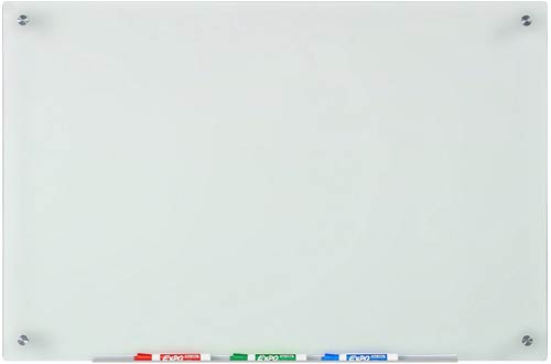Audio-Visual Direct Frosted Glass Dry-Erase Board Set