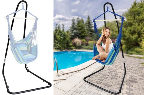 Sorbus Hammock Chair Stand for Hanging Chairs, Swings, Loungers