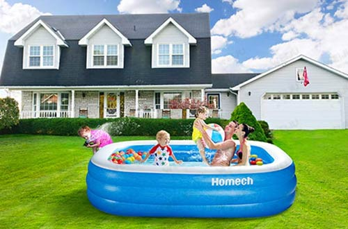 Homech Family Outdoor Inflatable Swimming Pools for Baby, Kids & Adult