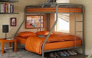 Dorel Metal Bunk BedsTwin-Over-Full