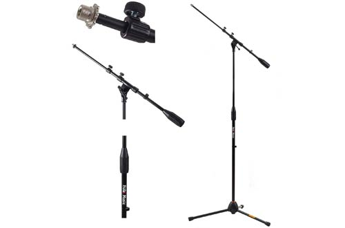 Music HPS-101TB Professional Tripod Microphone Mic Stand with Telescopic Boom