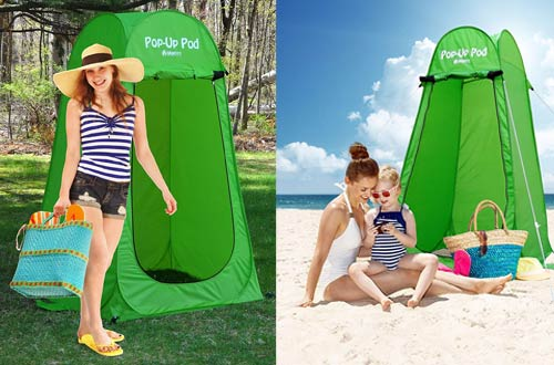 GigaTent Pop Up Changing Room Privacy Tent – Instant Portable Outdoor Shower Tents