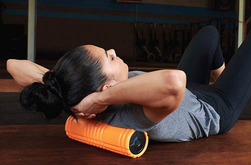 TriggerPoint GRID VIBE PLUS 4-Speed Vibrating Foam Rollers