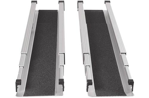 DMI Portable Wheelchair Ramps for Home, Van & Steps