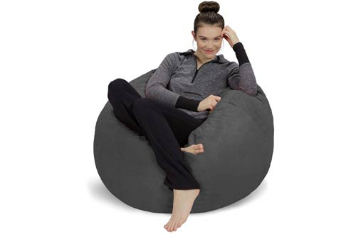 Sofa SackUltra Soft Bean Bag Chairswith Microsuede Cover