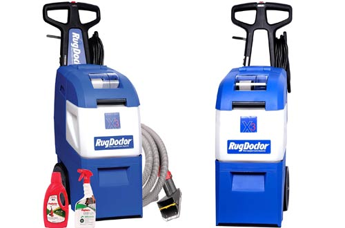 Rug Doctor Mighty Pro X3 Pet Pack Carpet Cleaner Machines