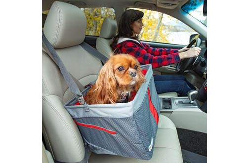 Kurgo Front Dog Car Seats - Dog Seatbelt Tether - Carrier Car Seat for Pets
