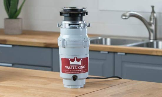 Waste King L-1001 Garbage Disposals with Power Cord, 1/2 HP