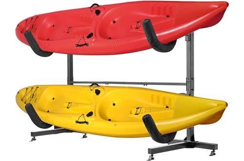 RAD Sportz Deluxe Freestanding Heavy Duty Kayak Racks