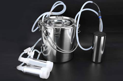 HEEPDD Portable 5L Electric Milking Machine Kit