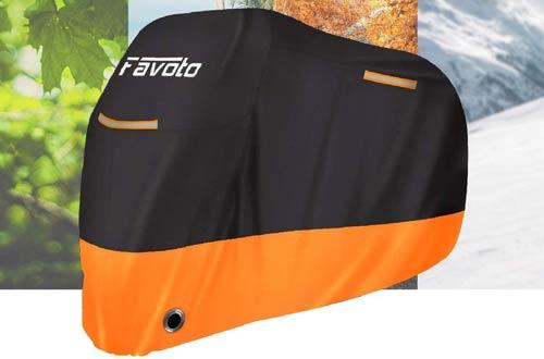 FavotoWaterproof Windproof Outdoor DurableMotorcycle Covers