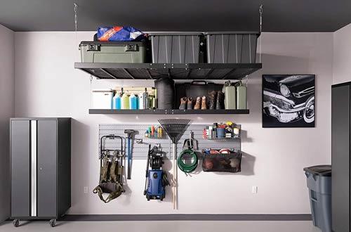 Wall Mounted Steel Shelving Garage Overhead Storage