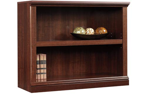 Sauder Select Cherry Wood Bookcase with Shelves