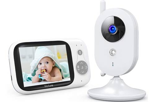 Victure Video Baby Monitorswith Camera and 2 Way Audio