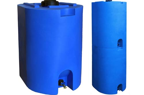 WaterPrepared 55 Gallon StackableWater Storage Tanks