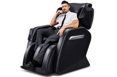 Tinycooper Zero Gravity Massage Chairs - Full Body Electric Massage Chair with Lower-Back Heating and Foot Roller