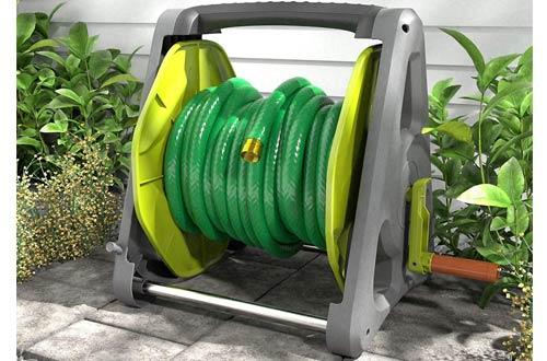 AmazonBasics Garden Hose Reel Carts