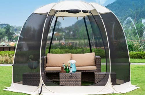 Leedor Gazebos for Patios Screen Houses - Canopy Mosquito Net Camping Tent with Walls