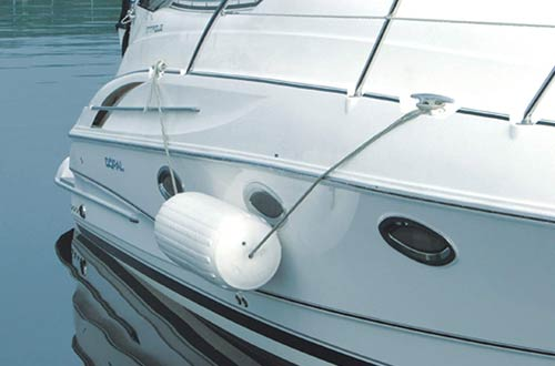 Taylor Made Inflatable Vinyl Boat Fenders with Center Rope Tube