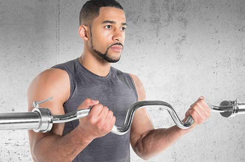 Cap Barbell Olympic Super Curl Bars