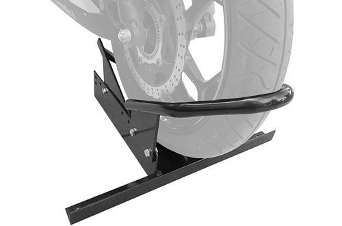 MaxxHaul 80077 Standard Motorcycle Wheel Chocks with Pivoting Cradle