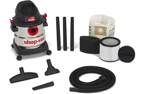 Shop-Vac 5-Gallon 4.5 Peak HP Stainless Steel Wet Dry Vacuums