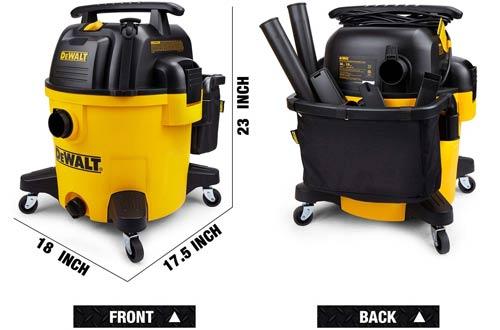 DeWALT DXV10P 10-Gallon Quiet Poly Wet Dry Vacuums