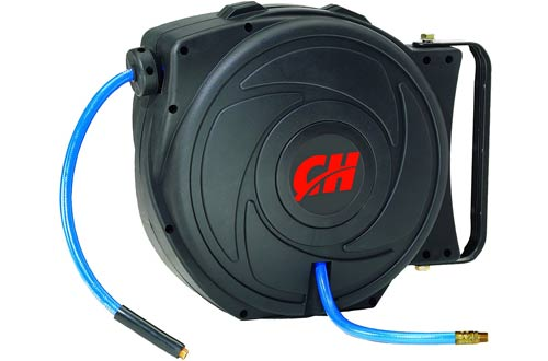 Campbell Hausfeld Air Hose Reels with Retractable 50 Foot Air Hose