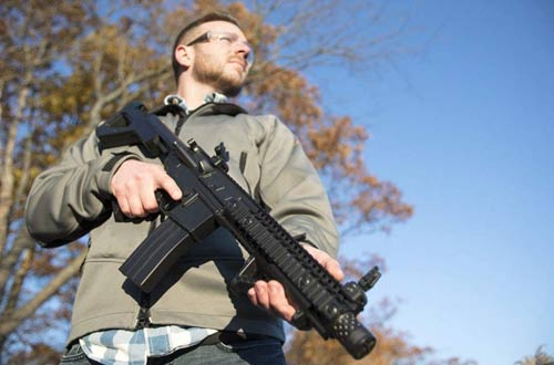 DPMS Full Auto SBR CO2-Powered BB Air Rifles with Dual Action