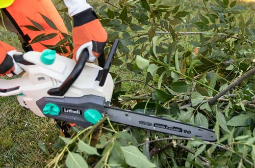 LiTHELi 40V Cordless Battery Chainsaws with Brushless Motor