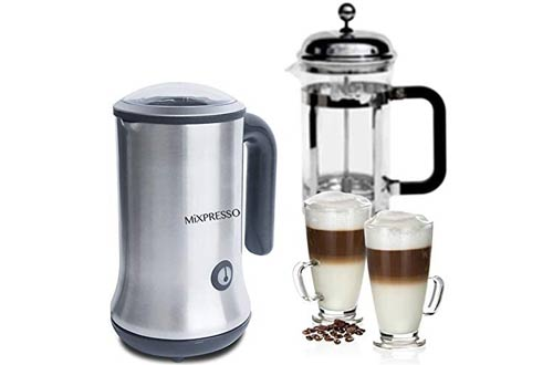 Mixpresso Handheld Electric Milk Frothers -Make Hot and Cold Frothed Milk