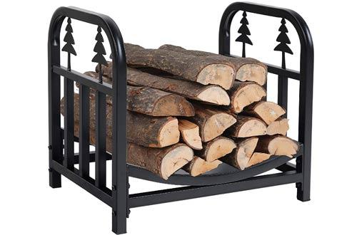 PHI VILLA Decorative Indoor & Outdoor Firewood Racks