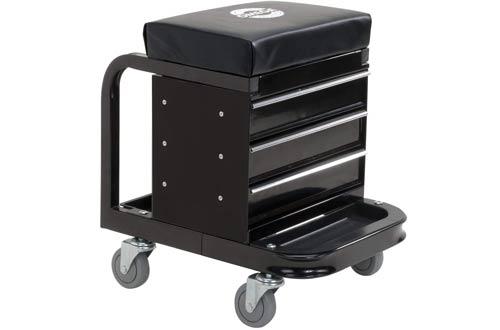 Omega 92450 Black Tool Box Mechanics Creepers