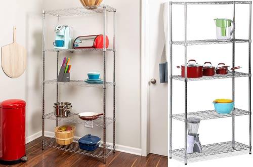Honey-Can-Do Adjustable Metal Storage Shelving Units