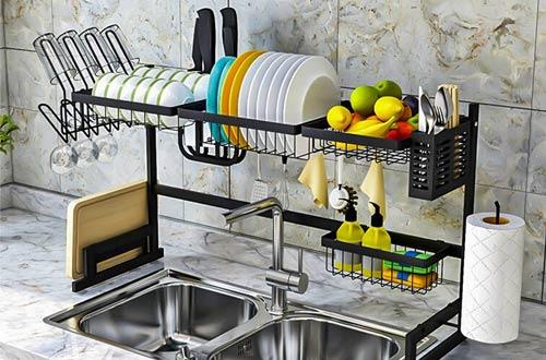 Over Sink Drying Racks