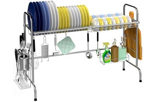 Veckle Over The Sink Drying Racks -Stainless SteelDish Racks