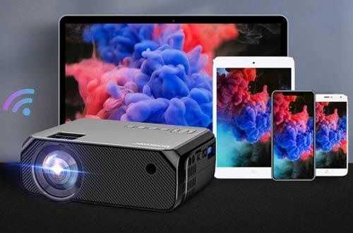 Bomaker Full HD Outdoor Overhead Projectors