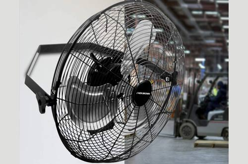 KEN BROWN High-Velocity Industrial Wall Fans