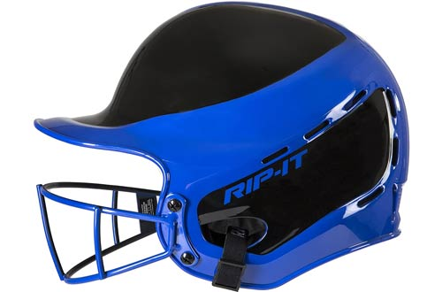 RIP-IT Vision Pro Away Baseball Batting Helmets with Face Mask