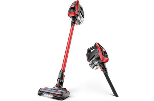 MOOSOO Handheld Cordless Stick Vacuum Cleanerswith 300W 24Kpa Super Suction