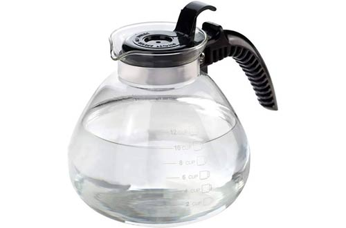 BNYDStovetop 12 Cup Glass Tea Kettles
