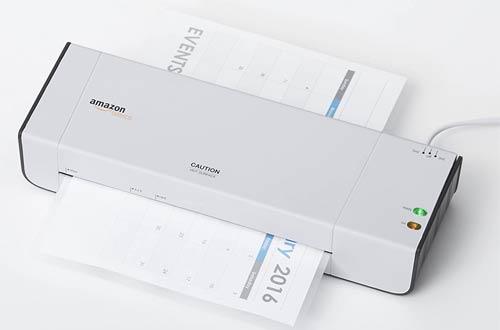 AmazonBasics Thermal Laminator Machines for School & Office