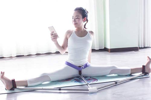OTEKSPORT 3 Bar Leg Stretcher - Flexibility Leg Stretching Machines