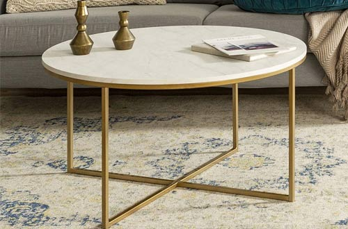 Round Marble Coffee Tables
