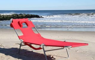 Ostrich Foldable Chaise Lounge Chair