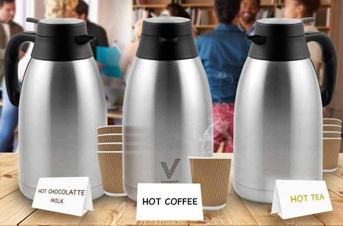 Vonidor StoreLarge Insulated ThermosCoffee Carafes