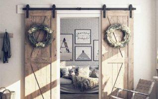 Double Barn Door Hardwares