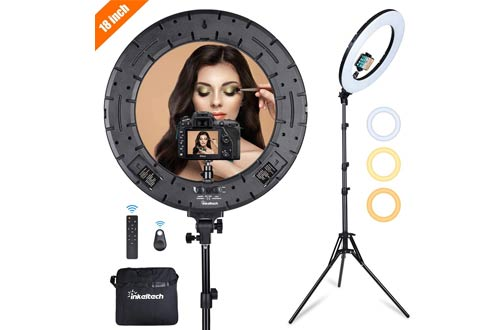 Inkeltech LED Ring Light Kit with Stand