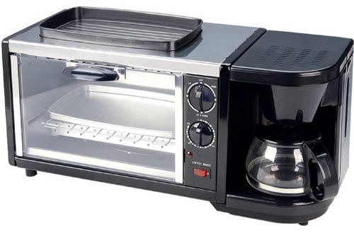 SPT BM-1118 Stainless Steel Breakfast Maker